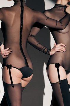 Ava high collar bodysuit