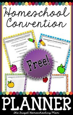 Download this FREE printable homeschool convention planner today: Complete with planning pages, packing checklist, and note-taking sheets. #homeschoolplanner #homeschoolconventions #homeschoolconferences #homeschoolmom #freehomeschoolprintables Best Blogs, Mom Blogs, Printable Planner, Free Printables, Conference Program, Packing Checklist, Pen And Paper, Frugal, Homeschooling