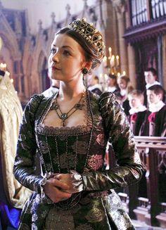 Sarah Bolger in 'The Tudors' (2007). x