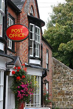 Reminds me of Dorcus Lane in Larkrise to Candleford series.  Village store & post office by Chrissie Shepheard