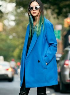 Fall for our 10 favorite pastel hair styles from celebrities and the runway.