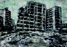 Beirut Art Fair opens today and will include galleries such as Agial Art which is showing this work by Ayman Baalbaki