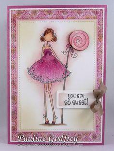 Pauline's Card Cupboard: You are so sweet