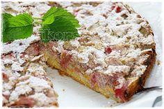 Kochen....meine Leidenschaft : Rhabarberkuchen mit Baiser