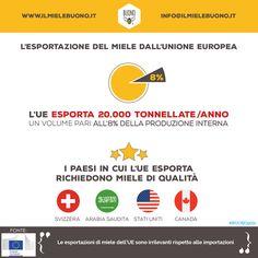 Esportazione di miele dall'Unione Europea