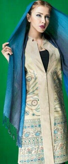 #مانتو #manto #persian fashion #Iranian # مدل مانتو Persian People, Persian Girls, Hijab Fashion, Girl Fashion, Womens Fashion, Iranian Women, Modest Wear, Islamic Fashion, Hijabs