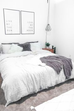 A bedroom is your sanctuary and where you spend a lot, of your time. Make it your own. My take on an urban, industrial style, loft apartment master bedroom.