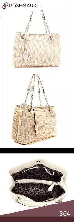 Selling this Jessica Simpson Gigi Shoulder Bag Tote on Poshmark! My username is: ctsales1. #shopmycloset #poshmark #fashion #shopping #style #forsale #Jessica Simpson #Handbags
