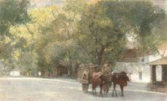 ... water; and The ox-drawn cart (illustrated) By Carlton Alfred Smith