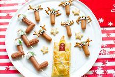 Makkelijk te maken en groot succes op de kindertafel: de kerstman die een dutje doet in zijn slaapzak - Recept - Knakworstpret - Allerhande