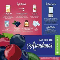 #Verano: Cómo prerparar un #smoothie de arándanos más nutritivo con #Herbalife #Fórmula1 #HLFRODRIGO