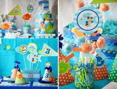 Rainbow fish party featured by Crissy's Crafts!