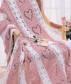 Hearts & Diamonds Crochet Pattern