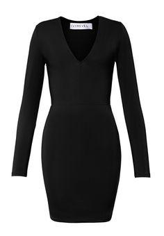 ELEANOR DRESS BLACK, hi-res | IvyRevel