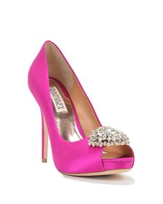 Badgley Mischka Jeannie Evening Shoe, now available at the official website. Free shipping, exchanges, and returns. Get your shoes faster