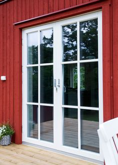 Build a house or villa? Architectural house from in Karlsk . Arkitektritat hus från i Karlskrona Build a house or villa? Architect architectural house from in Karlskrona - Barn House, Door Design, Modern Barn House, Cottage, House, House Exterior, Building A House, Types Of Doors, Small House