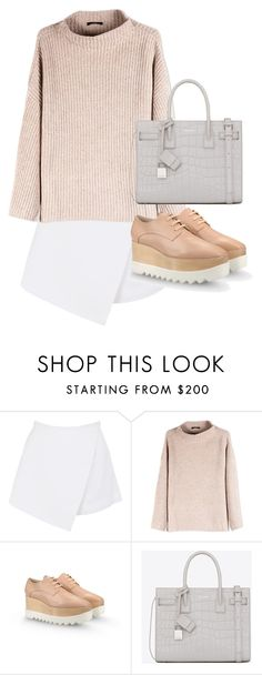"""""""Untitled #2718"""" by elenaday ❤ liked on Polyvore featuring BeginAgain Toys, The Row, STELLA McCARTNEY and Yves Saint Laurent"""