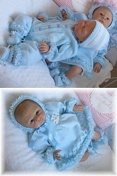 Rock a bye baby pic HEZKÝ VĚ Rock A Bye Baby, Doll Clothes, Dolls, Tricot, Bebe, Baby Dolls, Puppet, Doll, Baby Dresses