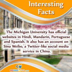#IntrestingFacts  Via www.msmbainusa.com/
