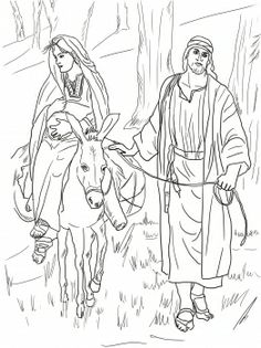 Nativity Graham Kennedy Coloring Page Christmas Banquet 2013