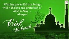 eid mubarak you all best wishes