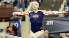Auburn held an intrasquad performance yesterday in front of their fans at Auburn Arena. Head Coach Jeff Graba said he was pleased with the team's overall pe Amazing Gymnastics, Gymnastics Girls, Gymnastics Championships, Simone Biles, Female Gymnast, Auburn University, Perfect 10, Auburn Tigers, Go Blue