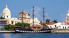 A baía das Ánimas - O porto interno