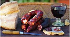 Portugal - Bread, sausage, Wine