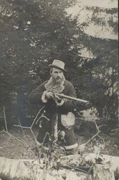 Józef Piłsudski na polowaniu. Witebsk 1893-1894