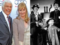 Karen Dotrice and Dick Van Dyke, left, at a 50th anniversary celebration of Mary Poppins, August 2013. The actress, bottom right, starred in the film – but amazingly had never seen it until this month.