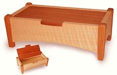 maple and mahogany box