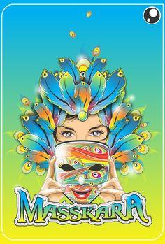 Masskara2 by darkeyedstudios Masskara Festival, Bacolod City, Candid, Digital Art, Smile, Illustrations, Fictional Characters, Illustration, Fantasy Characters
