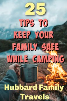 Camping Safety Tips for the Whole Family - Hubbard Family Travels #camping #campingsafety #campingfirstaid #campinghacks #campingdiy #hiking #rving Safety Talk, Wilderness First Aid, Sharp Objects, Go Outdoors, Camping Parties, Cool Eyes, Decks, Family Travel, Madness