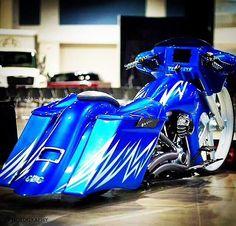 Custom Baggers, Custom Motorcycles, Custom Bikes, Bagger Motorcycle, Motorcycle Clubs, Harley Bikes, Harley Davidson Bikes, 125 Virago, Chinese Scooters