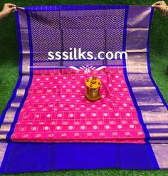 Indian Handloom Sarees and Silks Kuppadam Pattu Sarees, Handloom Saree, Picnic Blanket, Outdoor Blanket, Long Gown Dress, Pure Silk Sarees, Different Patterns, Colours, Pure Products