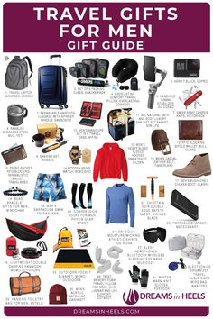 Looking for the best travel gifts for men? Here are my top picks for unique gift ideas for him! Useful travel gifts for dad, husband, boyfriend or anyone that you would like to surprise | best gifts for men who travel for work | gifts for men who have everything | gifts for men who travel a lot | fathers day gifts ideas | gifts for men who love to travel | men who travel gifts | gift for male traveler | male traveler gifts | gifts for dads who travel | fathers day gifts for dads who travel | Best Travel Gadgets, Best Travel Gifts, Travel Hacks, Packing Tips For Travel, Travel Essentials, Travelling Tips, Packing Lists, Travel Reviews, Travel Articles