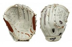 "Mizuno GMVP1250PSEF1 12.5"" Silver / Brown GMVP Prime SE Fastpitch Softball Glove"
