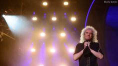 "@DrBrianMay ""The Thankful Bri""  ;) - #queen + #adamlambert #saopaulo #ibirapuera"