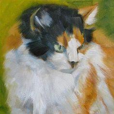 "Daily Paintworks - ""Callie"" - Original Fine Art for Sale - © Laura Buxo"
