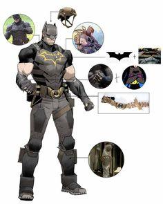 Batman Armor, Im Batman, Batman Robin, Gotham, Batman Redesign, Batman Drawing, Batman Cosplay, Marvel Dc, Arte Dc Comics