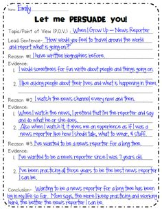persuasive writing outline - Expository Essay Introduction Example