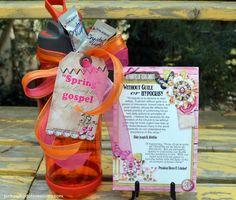April 2015 Visiting Teaching Handout   Pink Polka Dot Creations