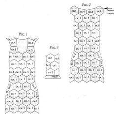 Crinochet: belos vestidos de crochê para Inspiration vestido pink
