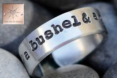 A Bushel and A Peck  Made to Order  by HeartAndSolDesigns on Etsy