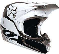 2013 Fox Racing V3 Fathom Helmet Matte White $349.95
