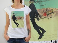 Queens of The Stone Age Womens T-Shirt Stylish Music T-Shirt Black