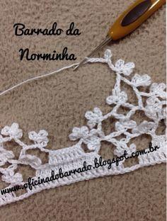OFICINA DO BARRADO: Croche - Um Barrado agradável ...