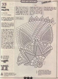 Kira scheme crochet: Scheme crochet no. 382