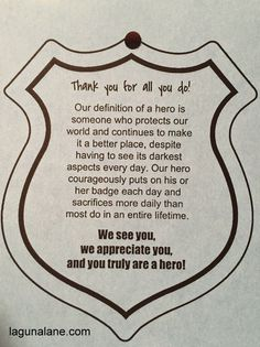 Support law enforcement by creating police appreciation bags full of treats and useful items! Come get free printable tags and a shopping list. Free Printable Tags, Free Printables, Future Mrs, Future House, Blessing Bags, 1st Responders, Police Officer Gifts, Military Police, Police Life