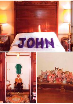 Place Space: John Water's Home Library A collection of photographs from John Water's home, which is in itself a work of art. Water's collects and curates his archive of rare books, art, and knick knacks in a delightful way.